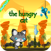cat tom hungry icon