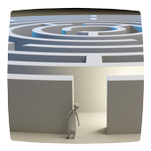 Mystery Maze Runner Labyrinth Simulator Game 3D icon