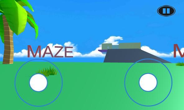 Mystery Maze Runner Labyrinth Simulator Game 3D screenshot 5