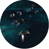 Space Impact Star Game 3D icon