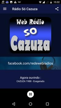 Rádio Só Cazuza apk screenshot