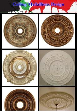 Ceiling Medallions Design poster