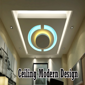 Ceiling Modern Design icon