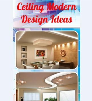 Ceiling Modern Design Ideas screenshot 1