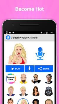 Celebrity Voice Changer Lite screenshot 3