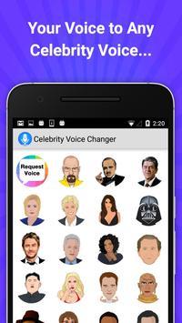 Celebrity Voice Changer Lite poster