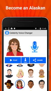 Celebrity Voice Changer Lite screenshot 2