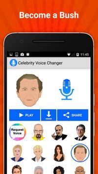 Celebrity Voice Changer Lite screenshot 4