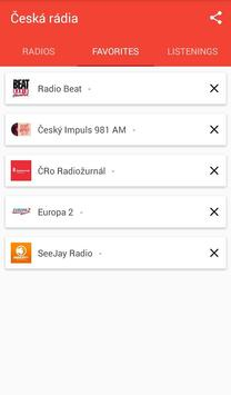 Česká rádia apk screenshot