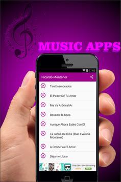 Ricardo Montaner Musica y Letra apk screenshot
