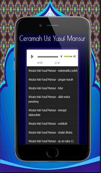 100+ Ceramah Motivasi Yusuf Mansur Mp3 screenshot 10