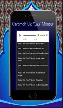 100+ Ceramah Motivasi Yusuf Mansur Mp3 screenshot 11