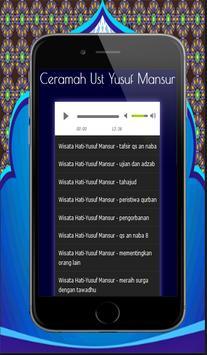 100+ Ceramah Motivasi Yusuf Mansur Mp3 screenshot 9