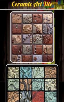 Ceramic Art Tile poster