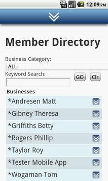 Corvallis Chamber of Commerce screenshot 5