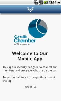 Corvallis Chamber of Commerce poster