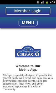 Cresco Area Chamber apk screenshot