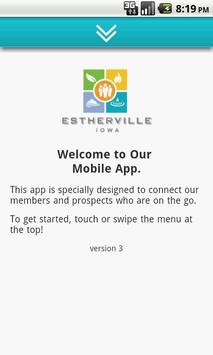 Estherville Area Chamber poster