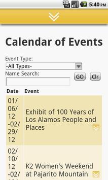 Los Alamos Chamber of Commerce screenshot 1