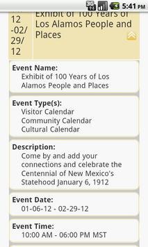 Los Alamos Chamber of Commerce screenshot 2