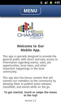 Walnut Creek Chamber Commerce poster