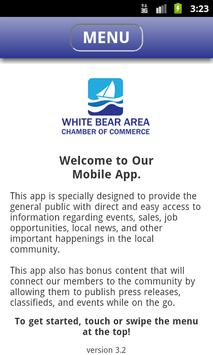 White Bear Area Chamber poster