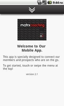 Matrx Coaching Suzanne Whyte poster