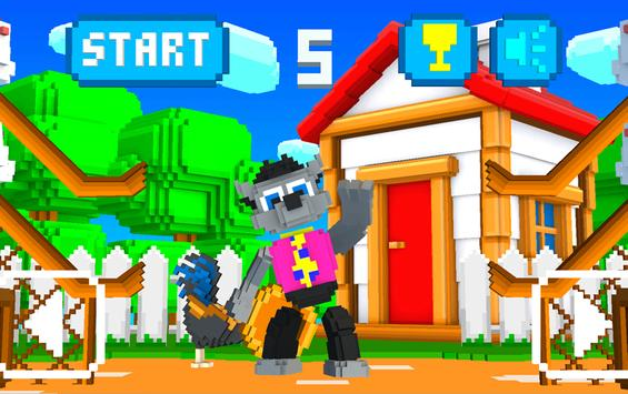 Wolf Likes Eggs 3D apk screenshot