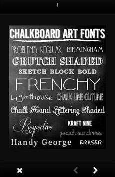 Chalkboard Lettering Designs screenshot 6