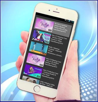 KALLY'S Mashup Cast - Worlds Collide Letra musica apk screenshot