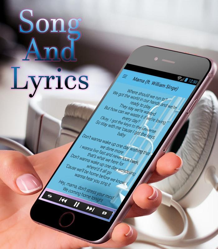 Jonas Blue - Mama ft William Singe Song Lyrics New for Android - APK