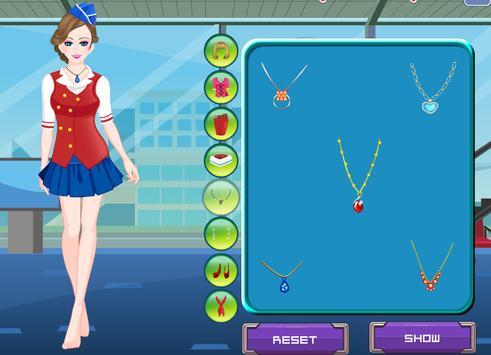 เกมส์เเต่งตัวเเอร์โฮสเตส screenshot 7