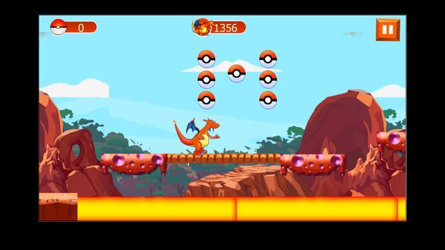Charizard Dragon pikachu game screenshot 5