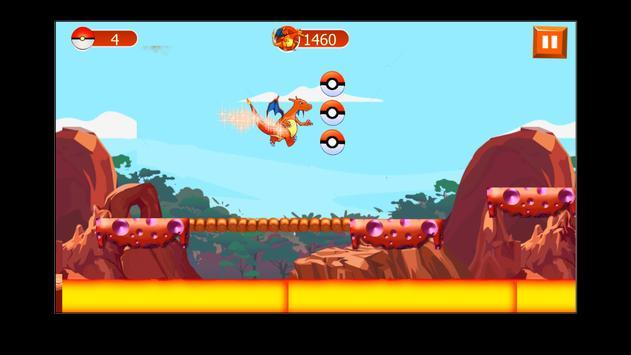 Charizard Dragon pikachu game screenshot 1
