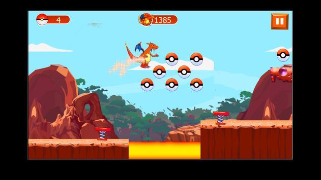 Charizard Dragon pikachu game screenshot 2