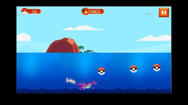 Charizard Dragon pikachu game screenshot 3