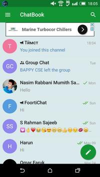 ChatBook Messenger screenshot 1