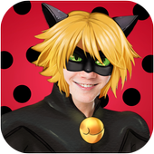 Chat noir Style Camera icon