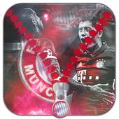 Munich Zipper Lock Screen icon