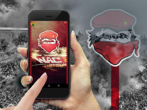 Wydad Zipper Lock Screen screenshot 4