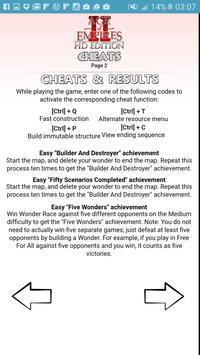 All Age Of Empires 2 Hd Cheats Apk Screenshot
