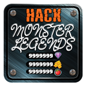 Cheat Unlimited Gold Monster Legends🎮App Prank icon