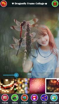 Dragonfly Frame Collage apk screenshot