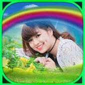 Rainbow Frame Collage icon