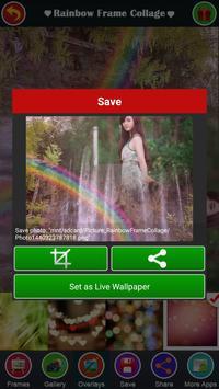 Rainbow Frame Collage apk screenshot