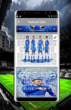 Wonderful keyboard for Chelsea f.c apk screenshot