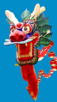 Chinese Kites Live Wallpaper poster