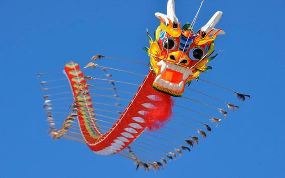 Chinese Kites Live Wallpaper apk screenshot