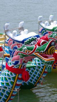 Dragon Boat festival Wallpaper poster