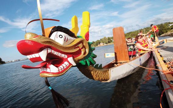 Dragon Boat festival Wallpaper screenshot 7